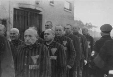 Campo di Sachsenausen internati omosessuali (1938)