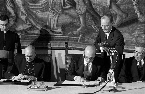 18 febbraio 1984: Accordo di Villa Madama
