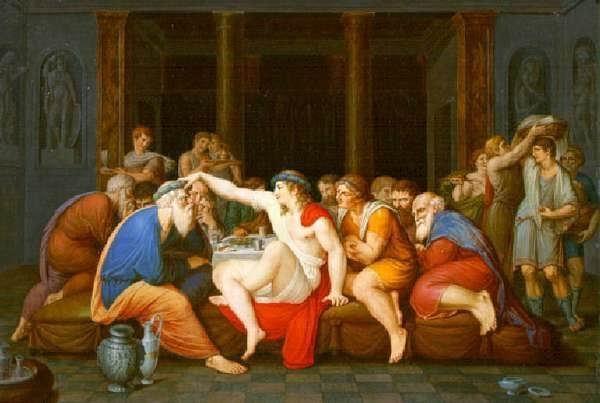 """Platone, """"Simposio"""", il discorso di Aristofane"""