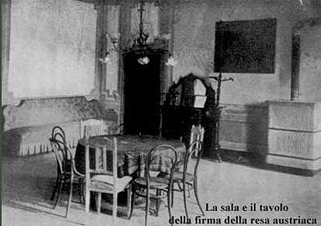 Risultato immagine per armistizio villa giusti