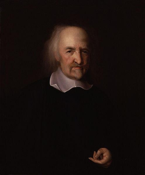Thomas Hobbes by John Michael Wright