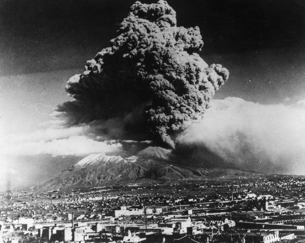1944 ultima eruzione del Vesuvio