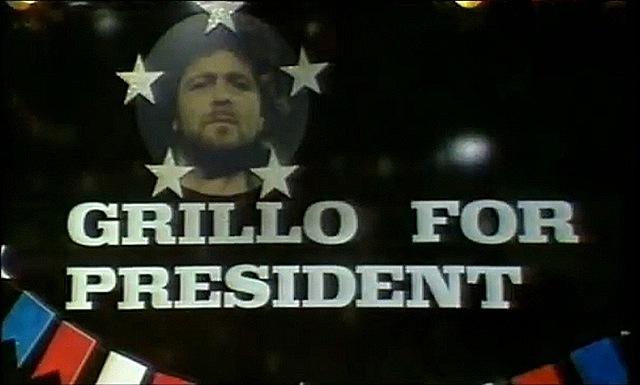 grillo for president