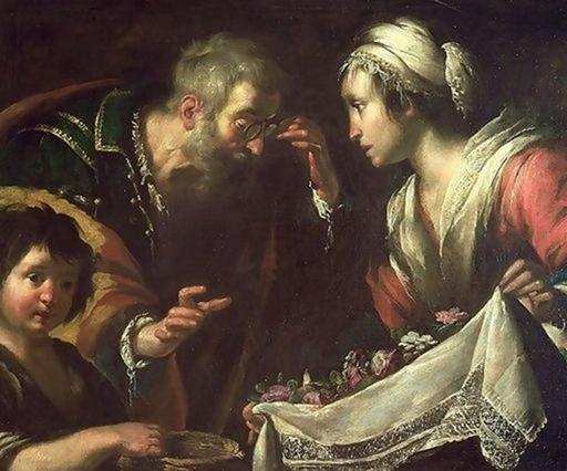 Miracolo di santa Zita, Bernardo Strozzi