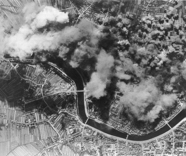 31 agosto 1943, Pisa bombardamento alleato