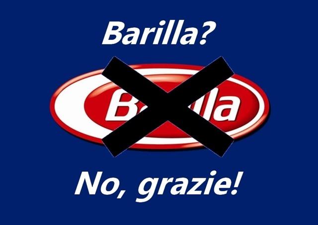 boicotta Barilla!