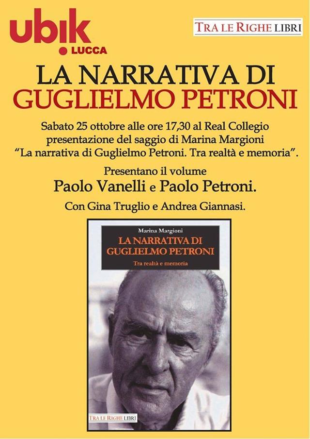 "Guglielmo Petroni ""torna"" a Lucca"
