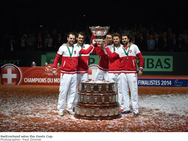 Switzerland wins the Davis Cup