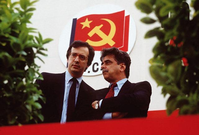 Walter Veltroni Achille Occhetto