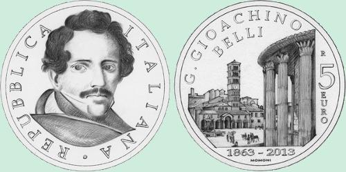 Italia-5-euro-Gioachino-Belli-2013