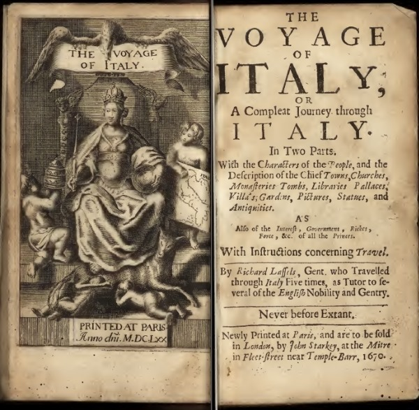 Lassels Voyage of Italy1