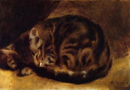 renoir_sleepingcat%28ca1862%29
