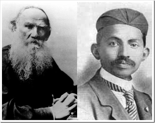 Tolstoj e Gandhi
