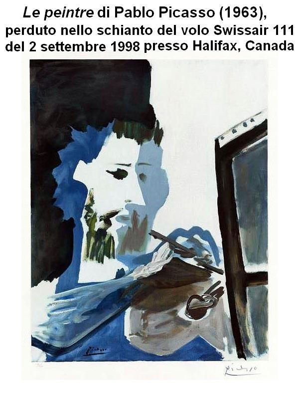 Le peintre Picasso