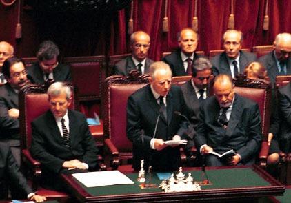 Cerimonia di insediamento del Presidente della Repubblica Carlo Azeglio Ciampi