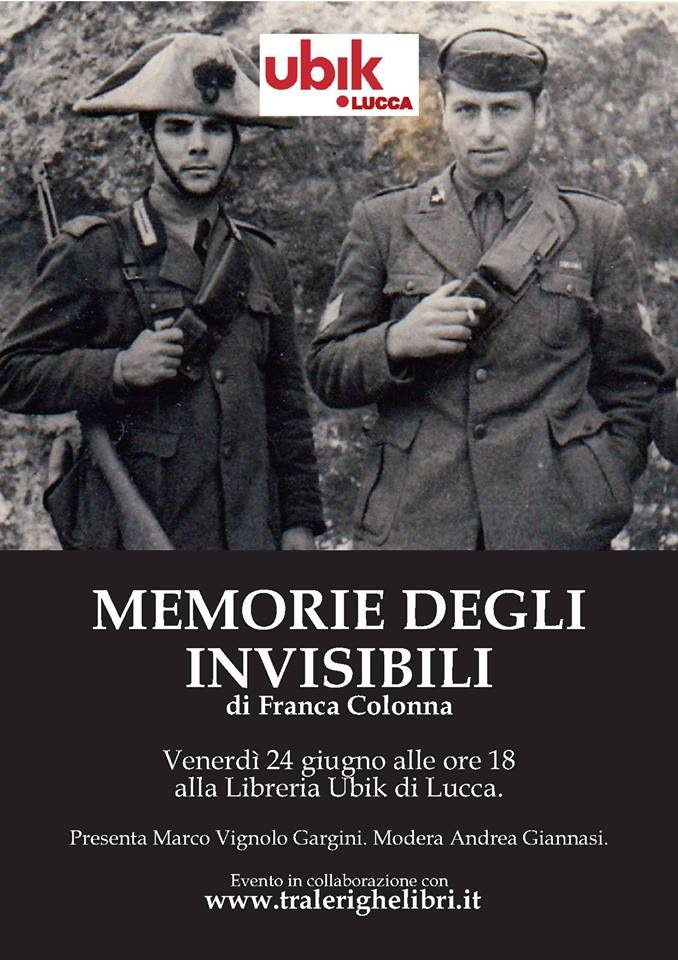 memoria degli invisibili