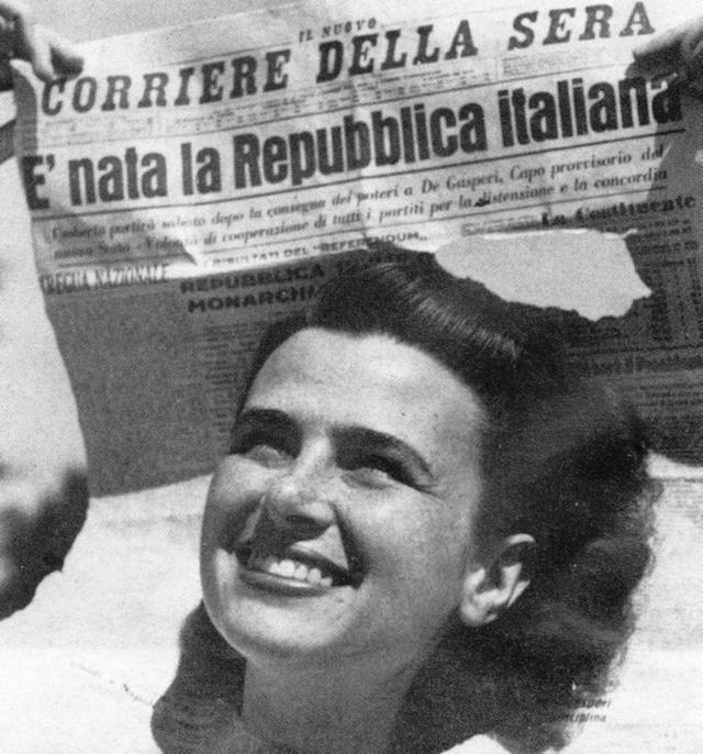 è nata la repubblica italiana