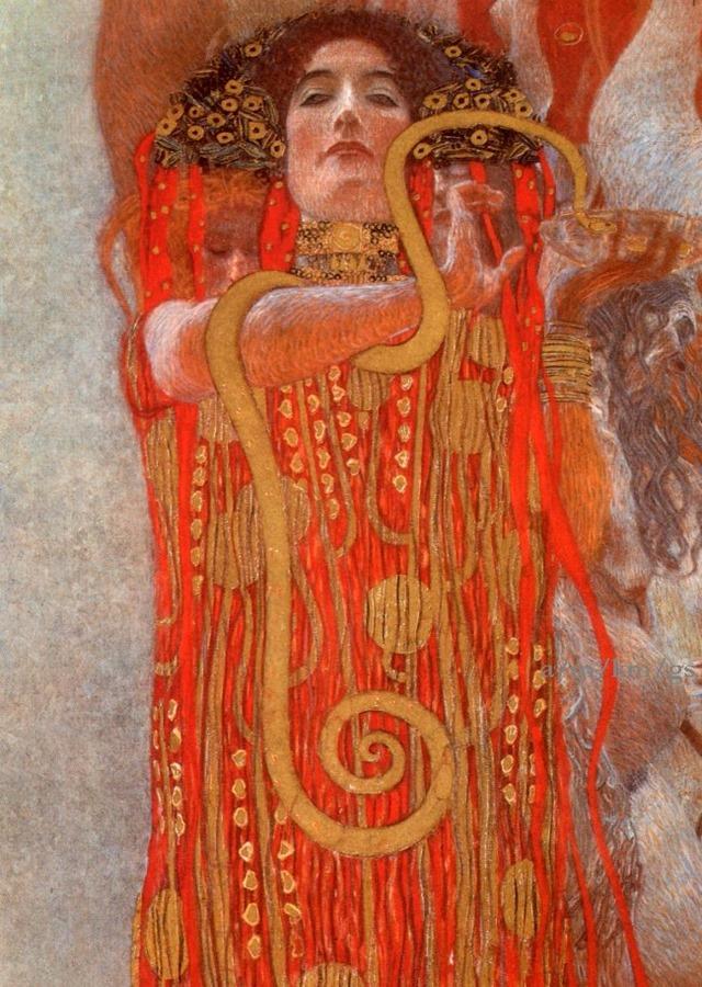Medicina - bozzetto - Klimt