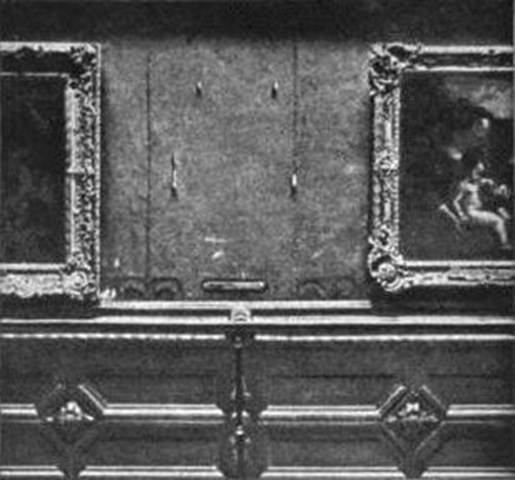 Mona Lisa rubata 1911