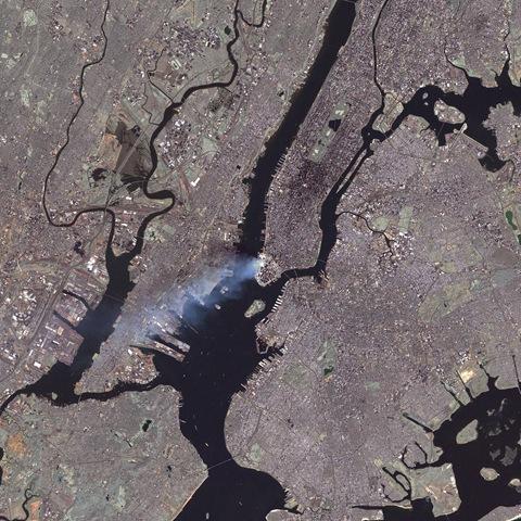 11 settembre satellite