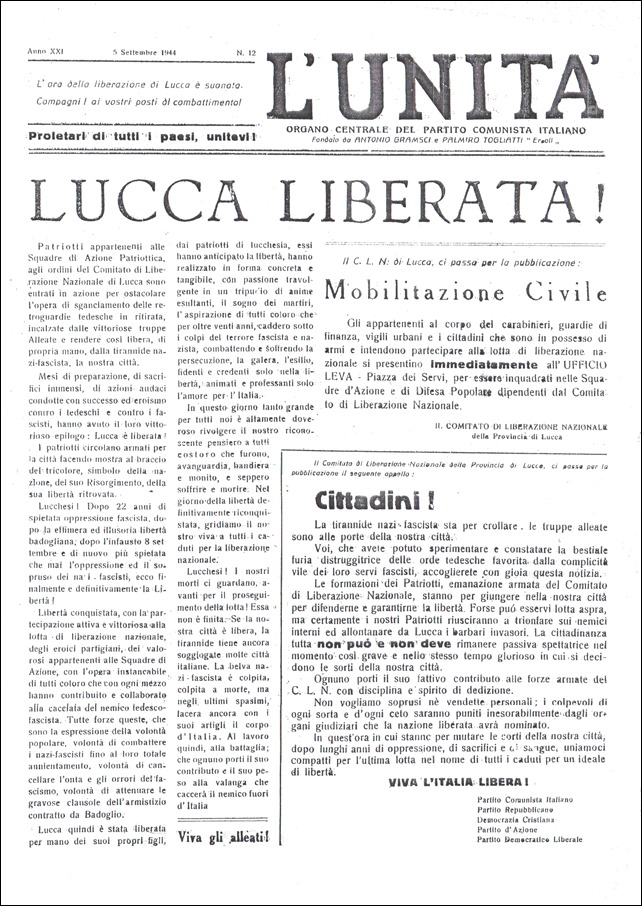 Lucca liberata