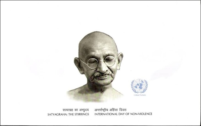 2 October - International Day of Non-Violence