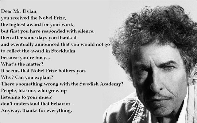 Dear Mr. Dylan