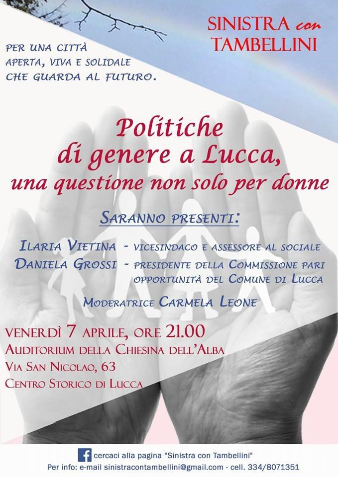 Politiche di genere a Lucca